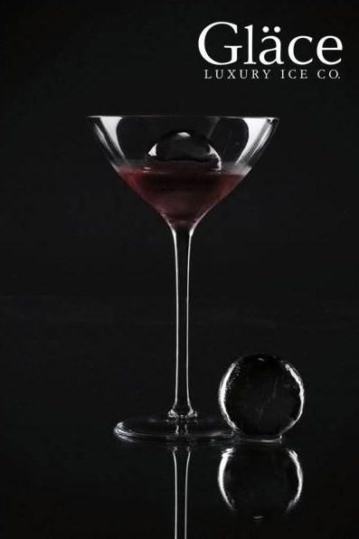 Glace-Black-Martini ghiaccio di lusso
