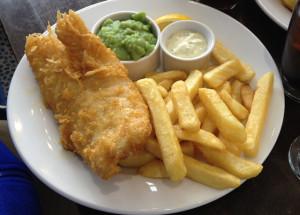 In Scozia si beve acqua Filette con fish&chips
