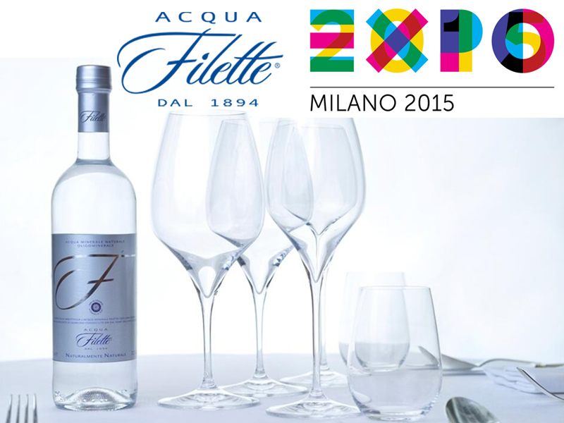 All'Expo 2015 Acqua Filette tra le eccellenze del Lazio