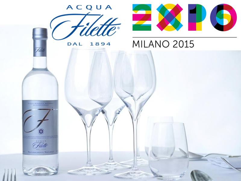 All'Expo 2015 Acqua Filette tra le eccellenze del Lazio