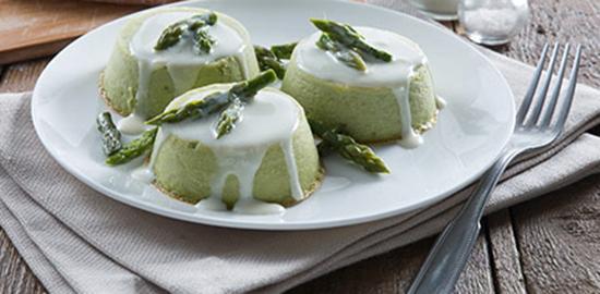 flan-asparagi